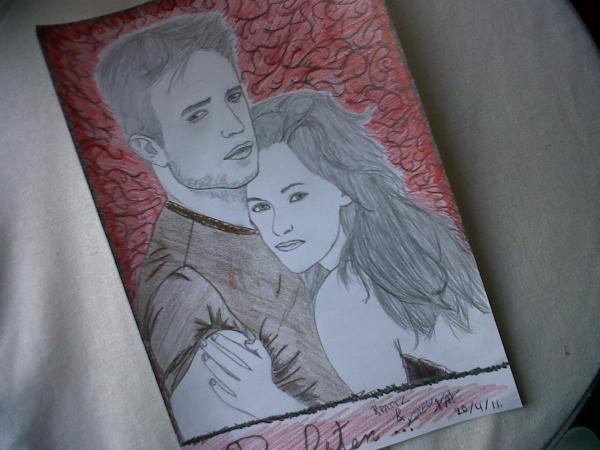 Kristen Stewart, Robert Pattinson by Kellytwi